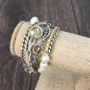 Chloe + Isabel City of Lights Wrap Bracelet
